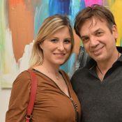 Jean-Félix Lalanne (56 ans) : Il a épousé Caroline Bonhomme (37 ans)