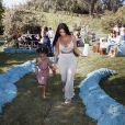 Kim Kardashian et sa fille North.