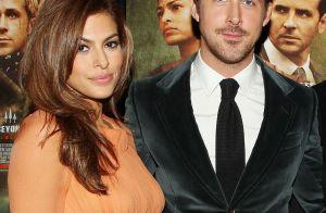 Eva Mendes et Ryan Gosling présentent