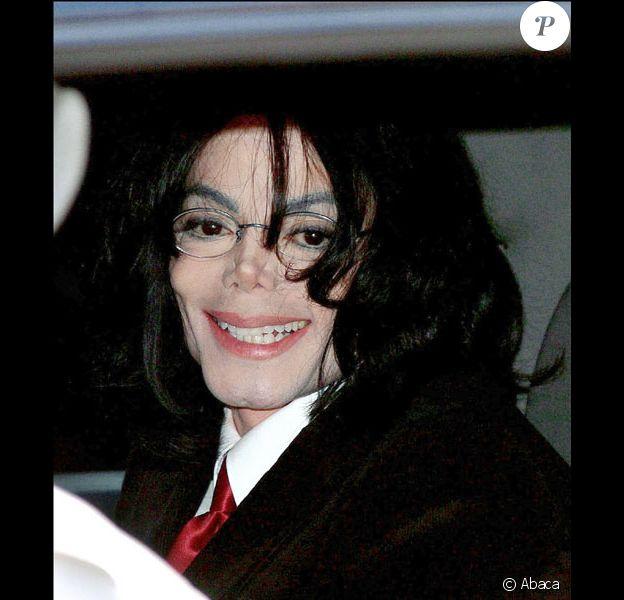 Michael Jackson en avril 2004