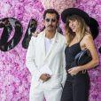 Haider Ackermann et Lou Doillon - Photocall du défilé de mode Dior Homme collection Printemps-Eté 2019 à la Garde Républicaine lors de la fashion week à Paris, le 23 juin 2018. © Olivier Borde/Bestimage