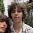 Lou Doillon et son fils sur Instagram.
