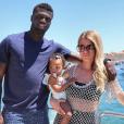 Émilie Fiorelli et M'Baye Niang dévoilent le visage de leur fille Louna. Juin 2019.