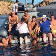 La famille Zidane en vacances à Ibiza le 19 juillet 2017.