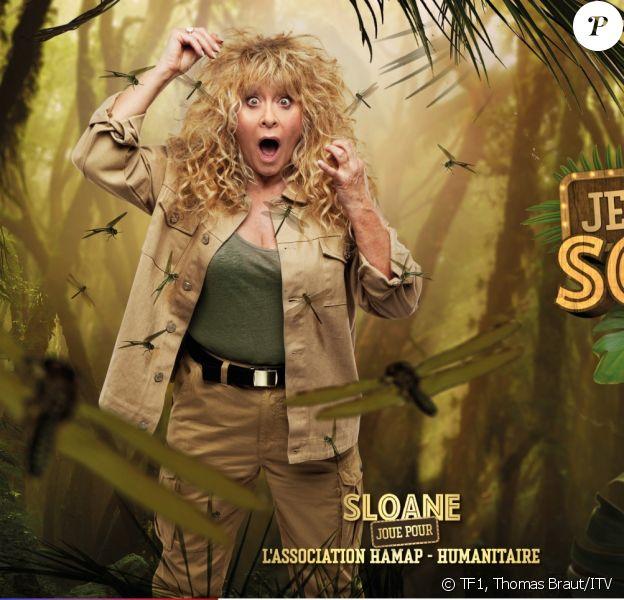 """Sloane, photo officielle de """"Je suis une célébrité sortez-moi de là"""", sur TF1"""