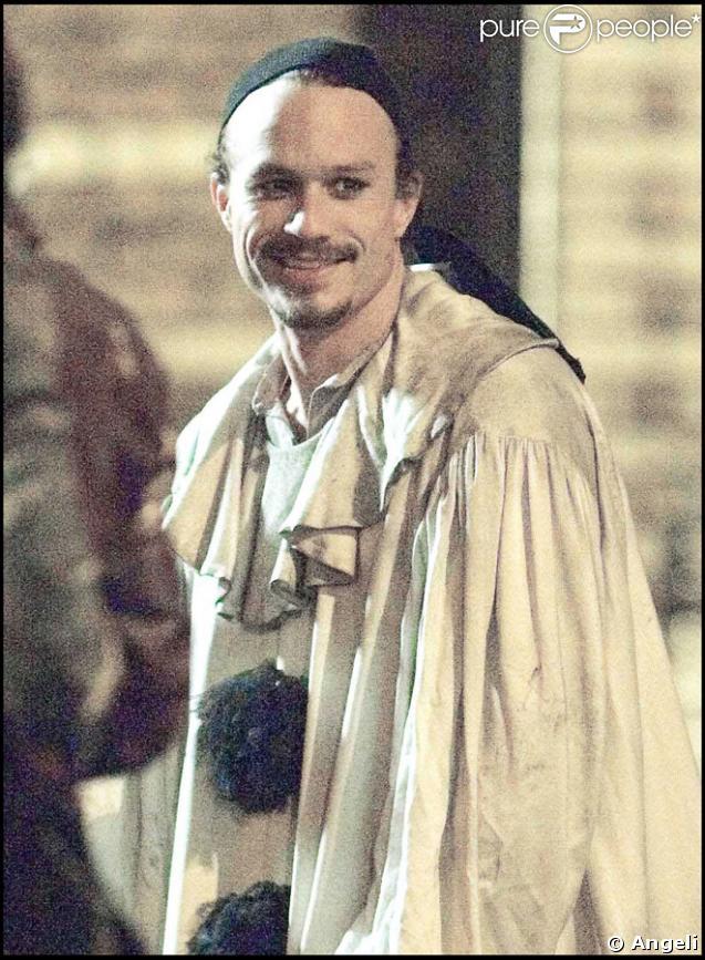 Heath Ledger sur le tournage de The Imaginarium of Doctor Parnassus