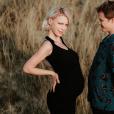 """Aria de la """"Star Academy"""" enceinte au côté de son compagnon Gus - photo Instagram du 7 juillet 2019"""