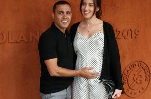 Brahim Asloum marié à Justine : petite célébration avant l'arrivée du bébé