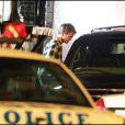 Robert Pattinson, le visage en sang sur le tournage du film Remember Me, à New York.
