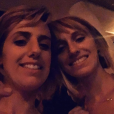 """Claire de """"L'amour est dans le pré"""" et sa soeur, à Montlaur-Bernet, le 20 juillet 2019"""