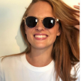 Mélanie Robert souriante sur Instagram, le 15 juillet 2019