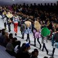 Défilé Louis Vuitton collection prêt-à-porter Automne-Hiver lors de la fashion week à Paris, le 5 mars 2019.