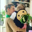 Laura Tenoudji et sa fille Bianca sur Instagram.