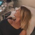 Jessica Thivenin, enceinte de son premier enfant, s'affiche face aux images de son bébé chez son gynécologue, le 12 juin 2019.