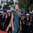 Naomi Campbell (Bijoux de Grisogono) - Montée des marches du film «Blackkklansman» lors du 71ème Festival International du Film de Cannes. Le 14 mai 2018 © Borde-Jacovides-Moreau/Bestimage  Red carpet for the movie «Blackkklansman» during the 71th Cannes International Film festival. On may 14th 201814/05/2018 - Cannes