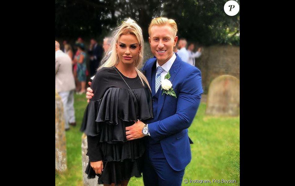 Katie Price et son fiancé Kris Boyson.