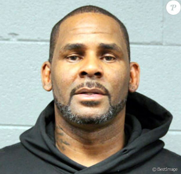 Le chanteur R.Kelly écroué pour non paiment de pension alimentaire, photo fournie par le département de police de Chicago, le 23 février 2019.