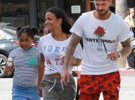 M. Pokora, Christina Milian, enceinte, et Violet : Virée shopping pour le bébé