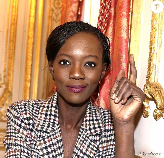 Portrait de Rama Yade, 2017. Paris.