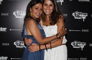 Les belles Karine Ferri, Karima Charni et leurs copains sont... des fêtards avant tout !