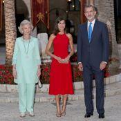 Letizia d'Espagne : Somptueuse au palais de la Almudaina pour un cocktail record