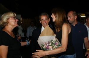 Carla Bruni et Nicolas Sarkozy en vacances : Tendres retrouvailles en famille