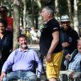 Exclusif - Jean-Marie Bigard lors du tournoi de pétanque des Toques Blanches Internationales au Jardin du Luxembourg à Paris, France, le 10 septembre 2018. © Bestimage