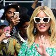 La chanteuse Katy Perry dans la rue à New York le 8 mai 2019.