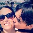 Capucine Anav a partagé des photos d'elle et de son chéri Alain-Fabien Delon pour leurs 2 ans et demi, sur Instagram, le 13 août 2019.