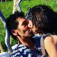 Sandra et Tomer Sisley sur Instagram.