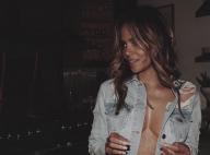 """Halle Berry : En tee-shirt mouillé et """"sans soutien-gorge"""" pour ses 53 ans"""