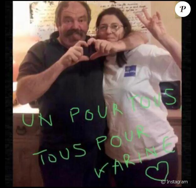 """Pascale et Vincent de """"L'amour est dans le pré 2018"""" sont-ils de nouveau ensemble ? Cette photo publiée en août 2019 sème le trouble."""
