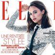 Alicia Vikander sur la couverture du magazine Elle, numéro 3844, le 23 août 2019.