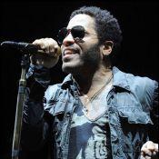 Lenny Kravitz fidèle à ses tenues moulantes, on en redemande !