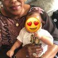 Paul Pogba publie une photo de sa mère et son fils sur Instagram le 22 août 2019.