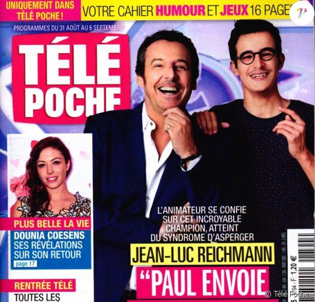 "Magazine ""Télé Poche"", en kiosques lundi 26 août 2019."
