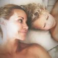 Ingrid Chauvin avec son fils Tom, sur Instagram, le 7 août 2019
