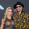 Coco Austin et son mari Ice-T assistent aux MTV Video Music Awards 2019 au Prudential Center à Newark dans le New Jersey, le 26 août 2019.