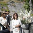 La reine Silvia de Suède et la princesse Madeleine de Suède assistaient le 18 juillet 2019 aux funérailles d'Anki Wallenberg à l'église de Dalaro, à Stockholm, un mois après sa mort dans le naufrage de son voilier sur le lac Léman.
