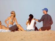 Gwyneth Paltrow et Chris Martin réunis à la plage avec leurs moitiés