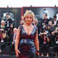 """Alberta Ferretti lors de la projection du film """"La Vérité"""" lors de la cérémonie d'ouverture du 76e festival du film de Venise, la Mostra, sur le Lido au Palais du cinéma de Venise, Italie, le 28 août 2019."""