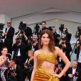"""Isabeli Fontana lors de la projection du film """"La Vérité"""" lors de la cérémonie d'ouverture du 76e festival du film de Venise, la Mostra, sur le Lido au Palais du cinéma de Venise, Italie, le 28 août 2019."""