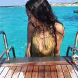 Jenaye Noah en vacances à Formentera. Août 2016.