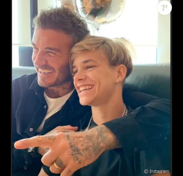 L'anniversaire de Romeo Beckham qui fête ses 17 ans le 1er septembre 2019.