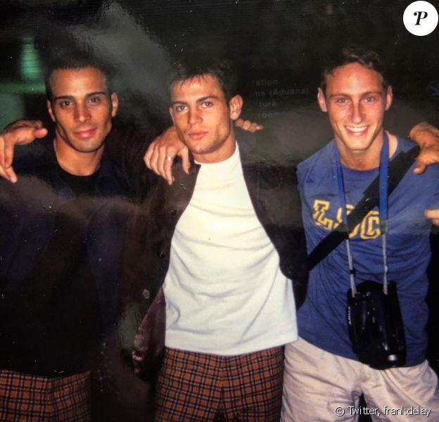 Frank Delay a partagé cette photo de lui avec Adel Kachermi et le regretté Filip Nikolic, sur Twitter, le 1er septembre 2019.