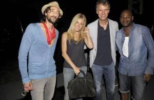 La radieuse Sienna Miller et le charmant Adrien Brody très complices...