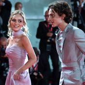 Lily-Rose Depp et Timothée Chalamet à Venise : regards complices sur tapis rouge