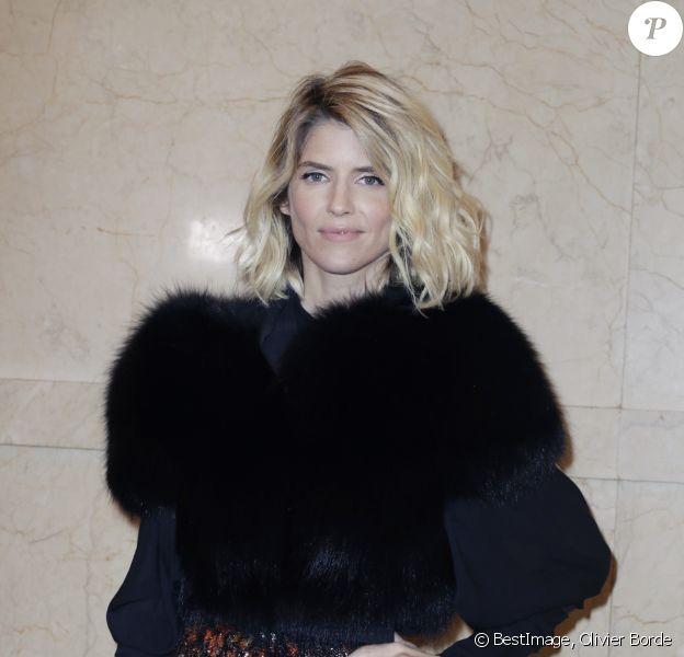 """Alice Taglioni - People au défilé de mode Haute-Couture printemps-été 2019 """"Elie Saab"""" à Paris. Le 23 janvier 2019 © Olivier Borde / Bestimage"""