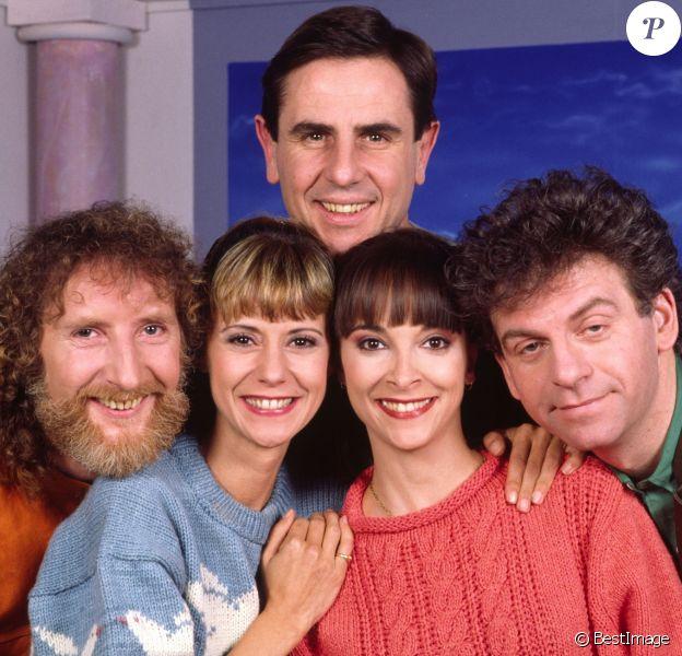 Archive - Le Club Dorothee Dorothee, Ariane Carletti, François Corbier, Jacky Jakubowicz, Patrick Simpson-Jones 1989