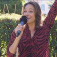 """Julia Vignali en interview pour """"Purepeople"""", mardi 3 septembre 2019"""